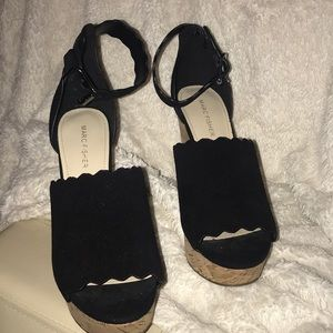 Marc Fisher Wedges. Size 8.5. Brand new!